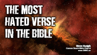 Most Hated Verse in the Bible - Genesis 1:1